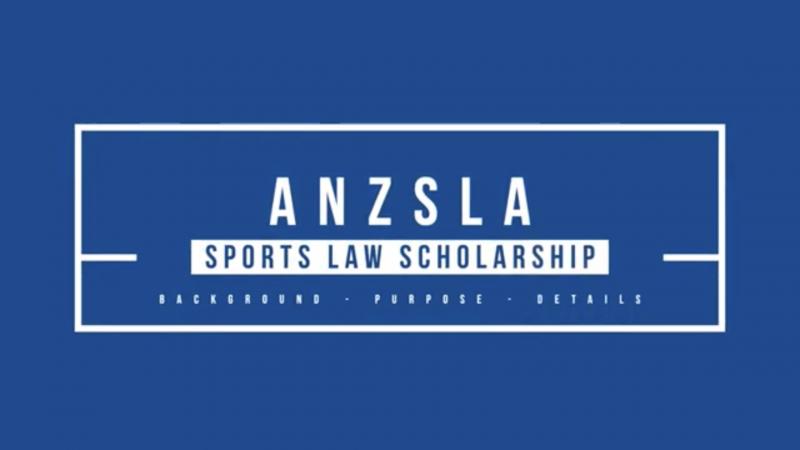 2021/2022 Sports Law Scholarship